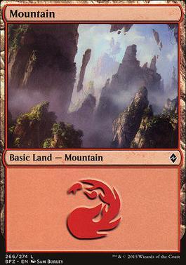 Battle for Zendikar: Mountain (266 B - Non-Full Art)