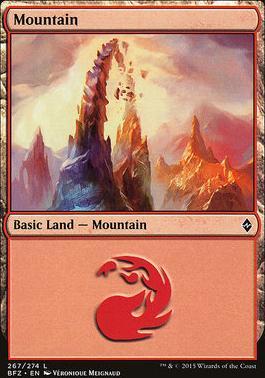Battle for Zendikar: Mountain (267 C - Non-Full Art)