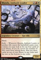 Battle for Zendikar Foil: Munda, Ambush Leader