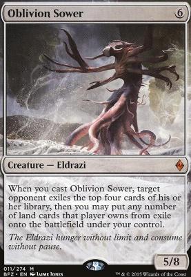 Battle for Zendikar Foil: Oblivion Sower