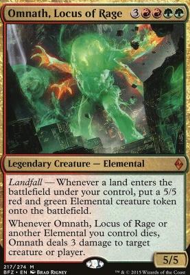 Battle for Zendikar: Omnath, Locus of Rage