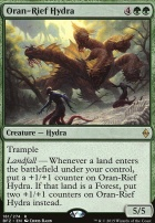 Battle for Zendikar Foil: Oran-Rief Hydra