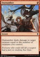 Battle for Zendikar: Outnumber