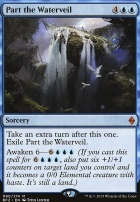 Battle for Zendikar Foil: Part the Waterveil
