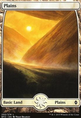 Battle for Zendikar: Plains (250 A - Full Art)