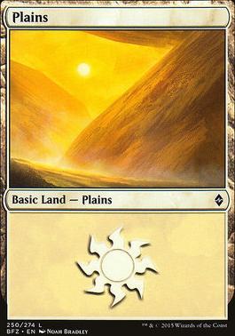 Battle for Zendikar: Plains (250 A - Non-Full Art)