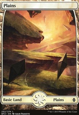 Battle for Zendikar: Plains (252 C - Full Art)