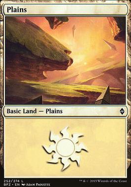 Battle for Zendikar: Plains (252 C - Non-Full Art)