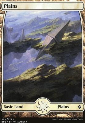 Battle for Zendikar: Plains (254 E - Full Art)