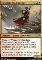 Battle for Zendikar Foil: Resolute Blademaster