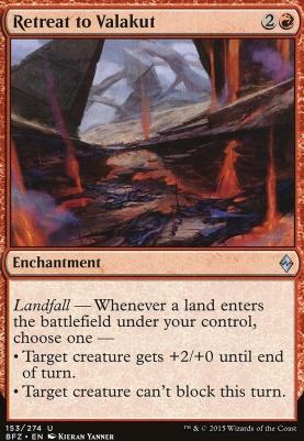 Battle for Zendikar: Retreat to Valakut