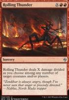 Battle for Zendikar Foil: Rolling Thunder