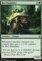 Battle for Zendikar: Rot Shambler