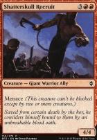 Battle for Zendikar: Shatterskull Recruit