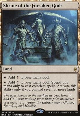 Battle for Zendikar: Shrine of the Forsaken Gods