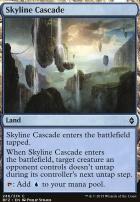Battle for Zendikar Foil: Skyline Cascade