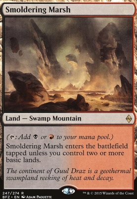 Battle for Zendikar: Smoldering Marsh