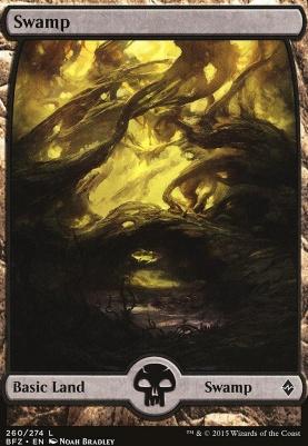 Battle for Zendikar: Swamp (260 A - Full Art)