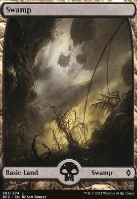 Battle for Zendikar: Swamp (261 B - Full Art)