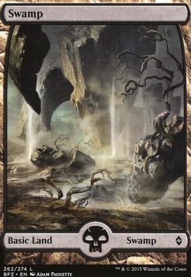 Battle for Zendikar: Swamp (262 C - Full Art)