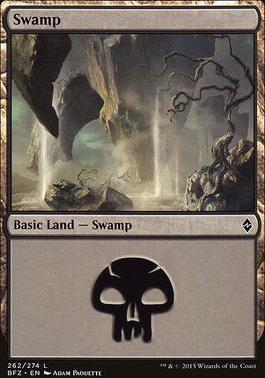 Battle for Zendikar: Swamp (262 C - Non-Full Art)