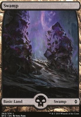 Battle for Zendikar: Swamp (263 D - Full Art)