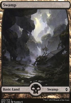 Battle for Zendikar: Swamp (264 E - Full Art)