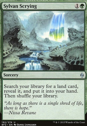 Battle for Zendikar Foil: Sylvan Scrying