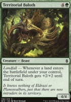 Battle for Zendikar: Territorial Baloth