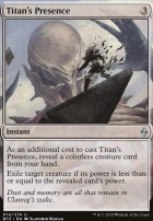 Battle for Zendikar Foil: Titan's Presence