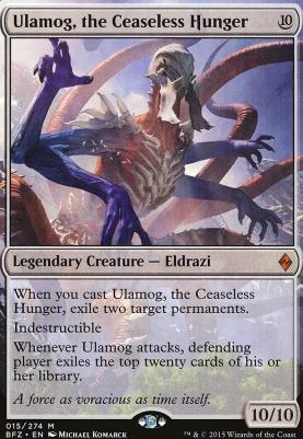 Battle for Zendikar: Ulamog, the Ceaseless Hunger