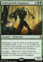 Battle for Zendikar: Undergrowth Champion