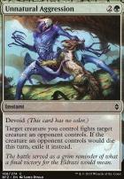 Battle for Zendikar: Unnatural Aggression