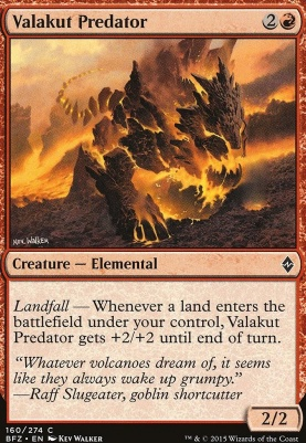 Battle for Zendikar: Valakut Predator