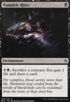 Battle for Zendikar: Vampiric Rites