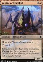 Battle for Zendikar Foil: Vestige of Emrakul