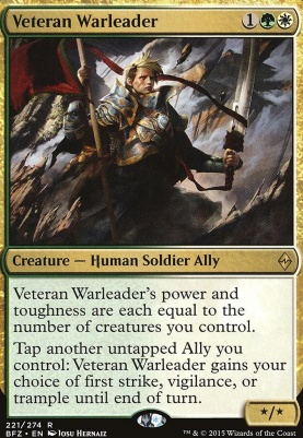 Battle for Zendikar: Veteran Warleader