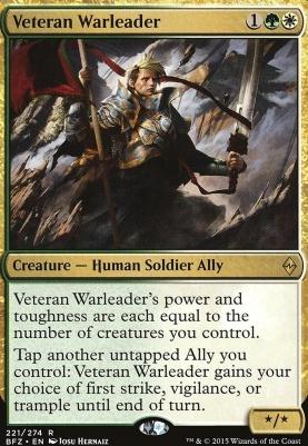 Battle for Zendikar: Veteran Warleader