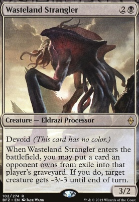 Battle for Zendikar: Wasteland Strangler