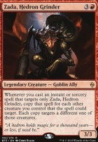 Battle for Zendikar: Zada, Hedron Grinder