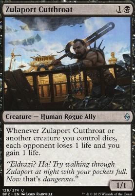 Battle for Zendikar Foil: Zulaport Cutthroat
