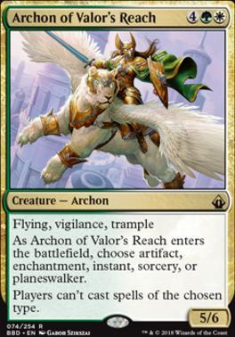Battlebond: Archon of Valor's Reach