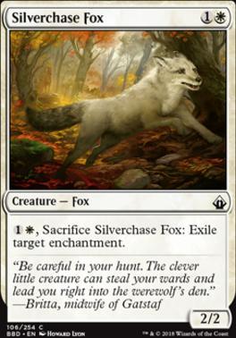 Battlebond: Silverchase Fox