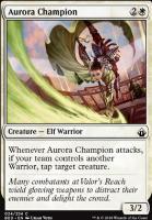 Battlebond Foil: Aurora Champion