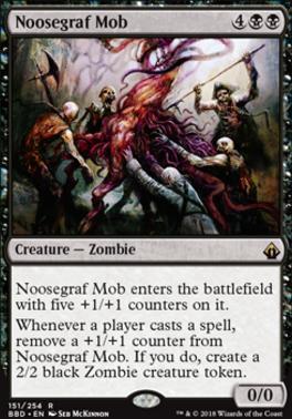 Battlebond Foil: Noosegraf Mob
