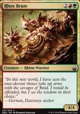 Battlebond: Rhox Brute