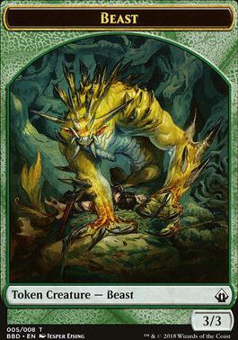 Battlebond: Beast Token
