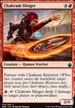 Battlebond: Chakram Slinger
