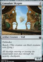 Battlebond Foil: Consulate Skygate