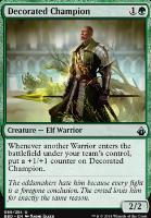 Battlebond: Decorated Champion